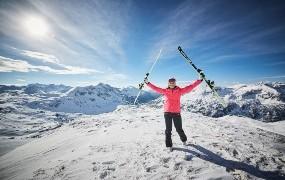 Schneebotschafterin Maria Höfl-Riesch