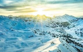 Sonne über Obertauern